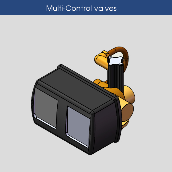 Multi-Control valves