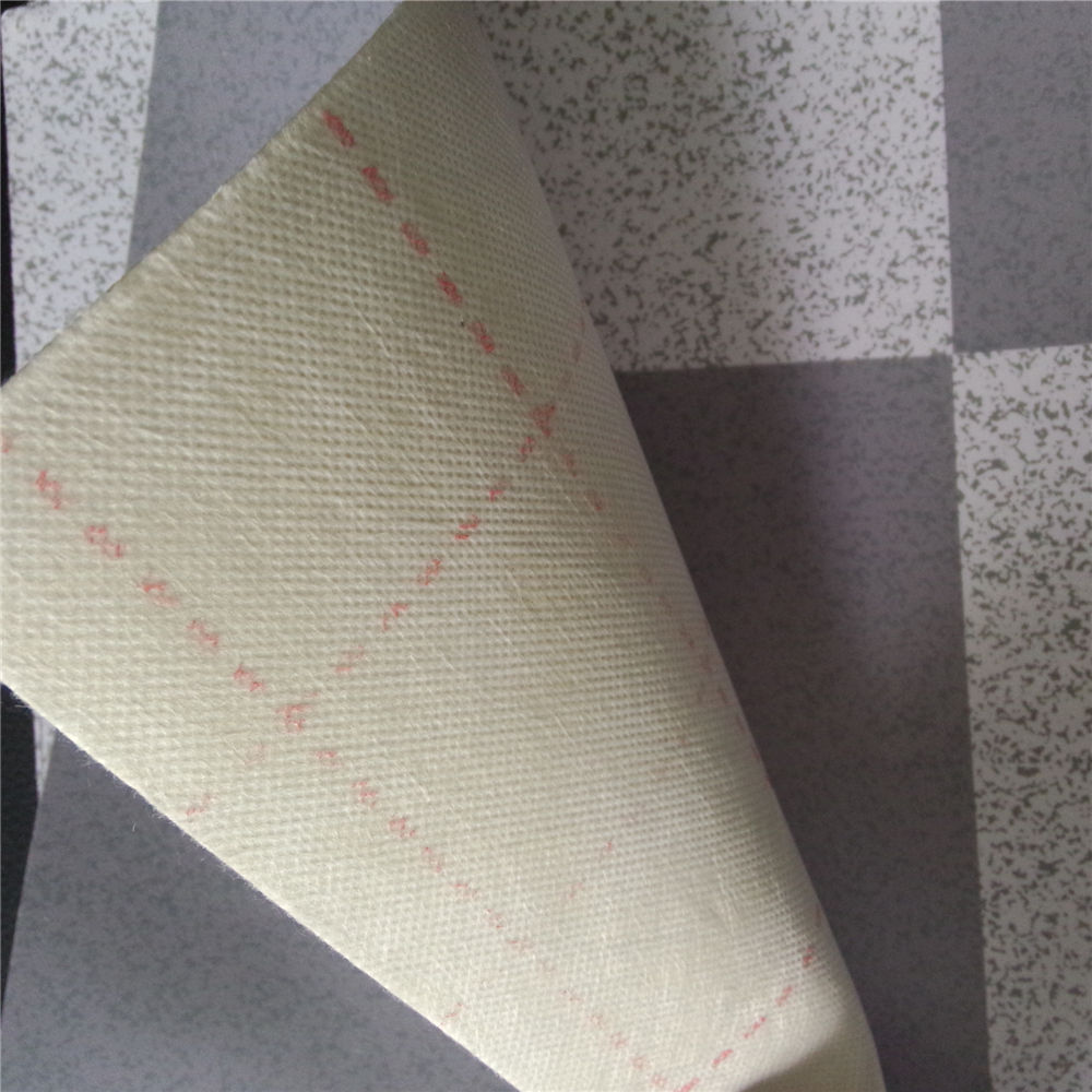 2.5m-3.75m red/white felt backing pvc flooring rolls