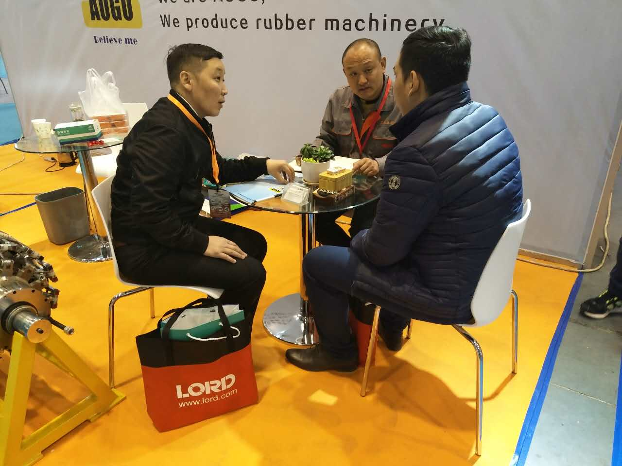 Qingdao machinery exhibition