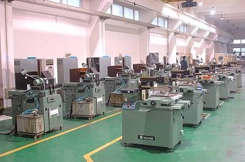 CNC Molybdenum wire cut machine workshop2
