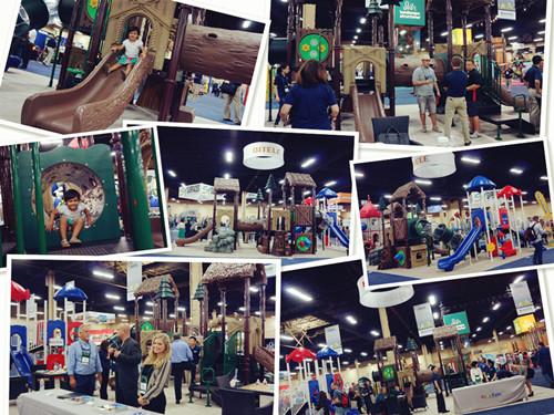 QITELE 2015 NRPA Fair in USA
