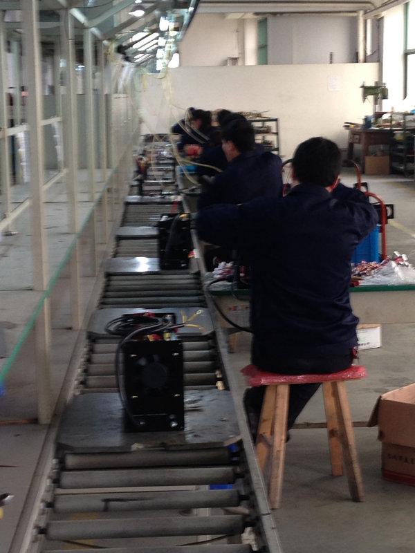 Inverter production line