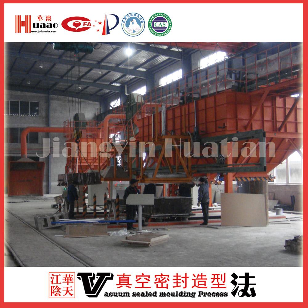 Nantong super equipment co., LTD. V method casting production line