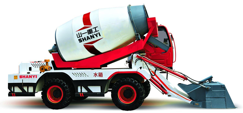 4.0cbm concrete mixer truck
