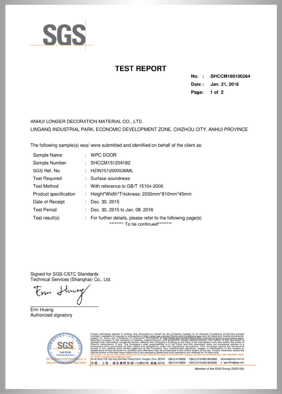 Surface Soundness Test