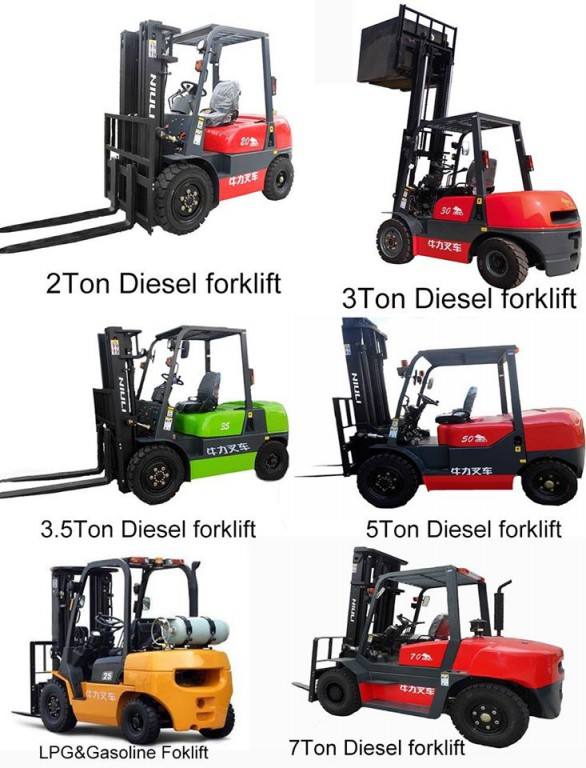 Approved CE certification diesel forklift