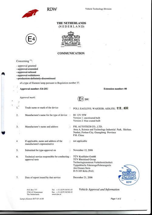 EMARK Certificated