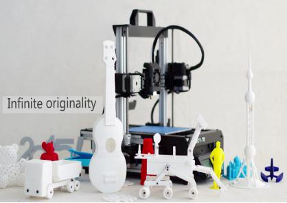 3D Printer Machine Model Application of Place Located