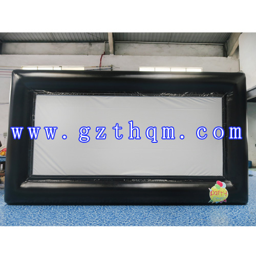 Airblown Inflatable Giant Movie Screen for Outdoors Using/Projection Movie Screen