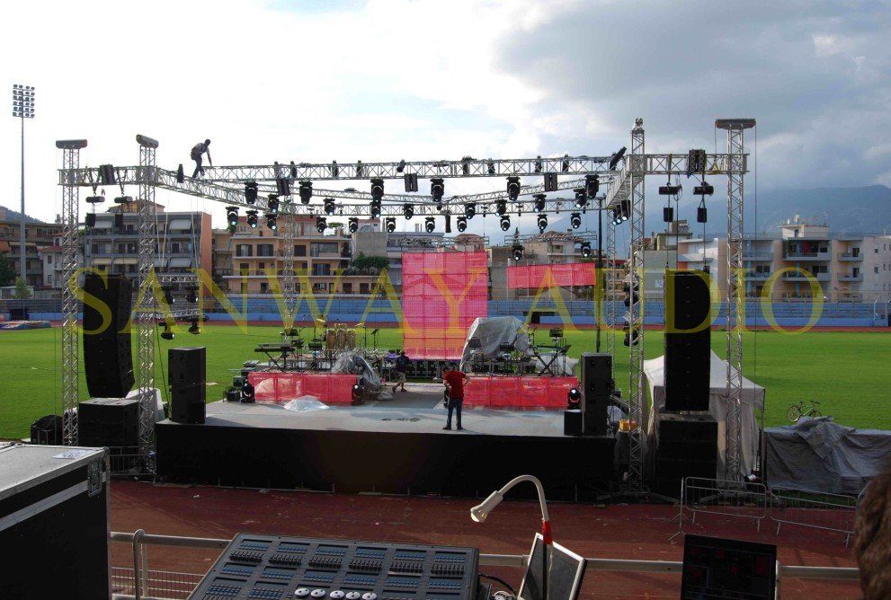 Greece Outdoor Line Array System