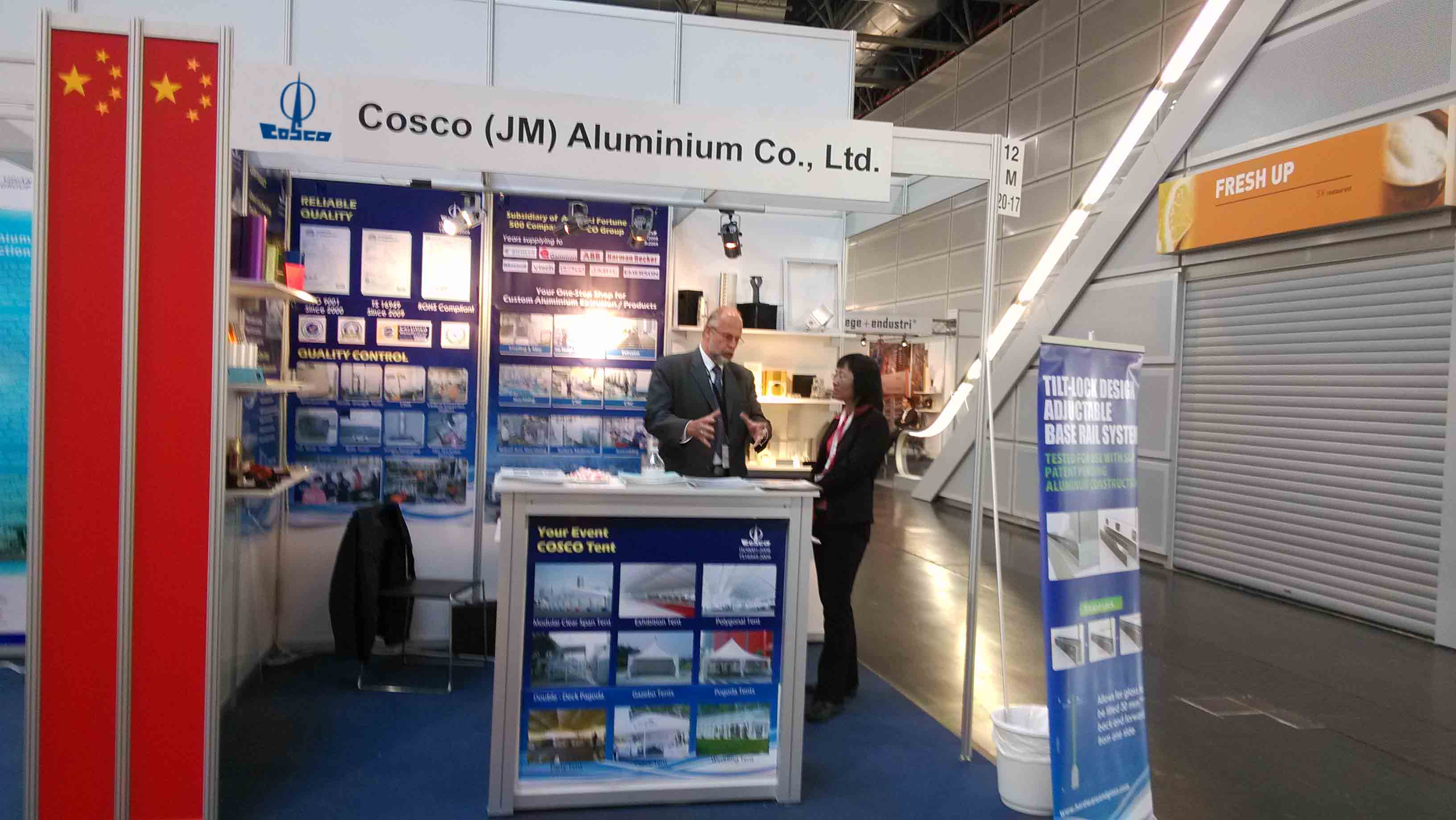 ALUMINIUM 2014, Messe Dusseldorf, Germany