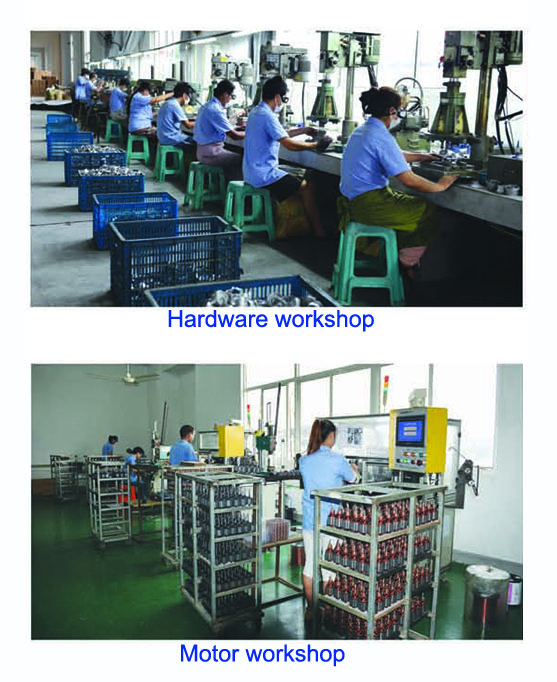 Hardware workshop & motor workshop