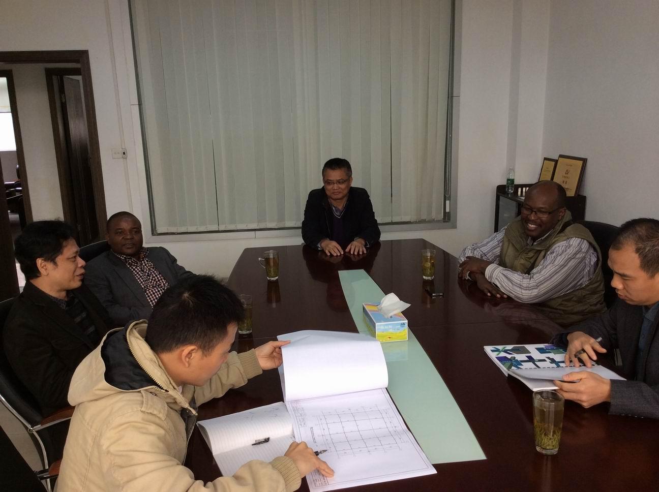 Burundi clients visiting