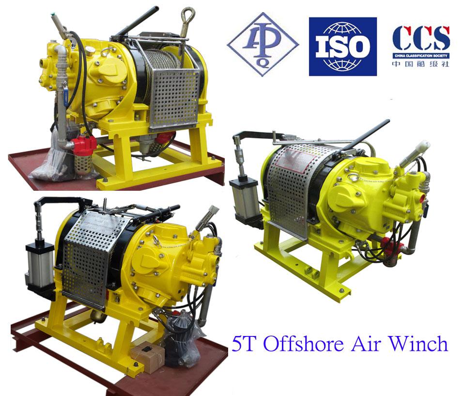 Offshore Application Air Tugger Winch 5TSeries