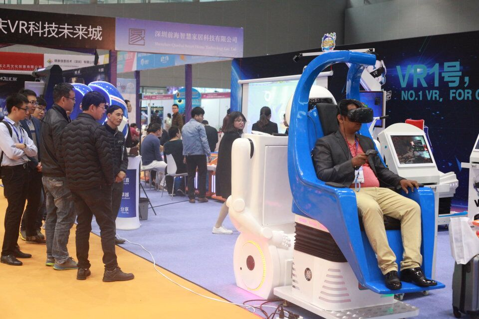2017VR&AR Exhibition was held successfully