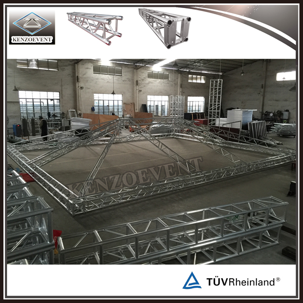 Assemblig Aluminum Truss System in Factory