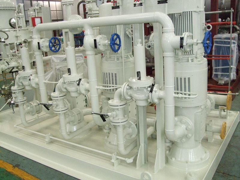 RSP Three-screw Pump for Sealing Oil System in Thermal Power Plants