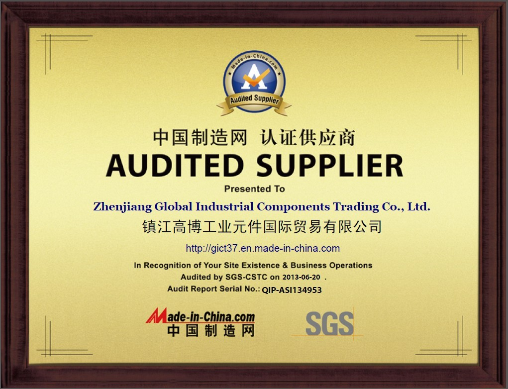 SGS certified China qualified supplier