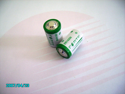 1/2AA 1200mAh Electricity Meter Lithium Battery Er14250