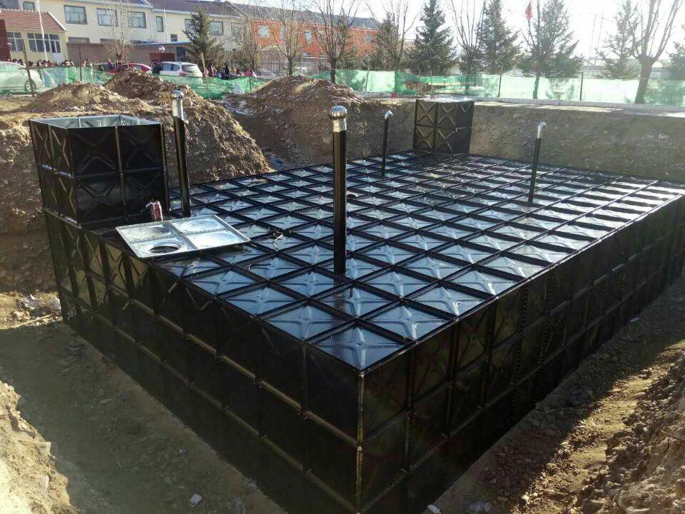 BDF underground water storage tank