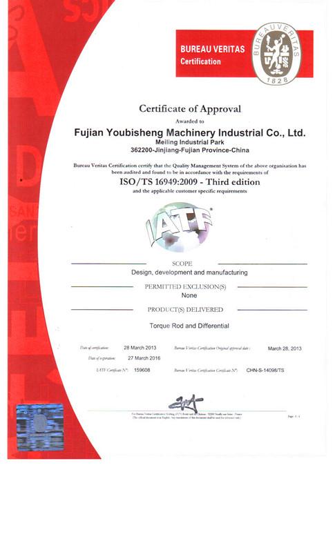TS/ISO 16949