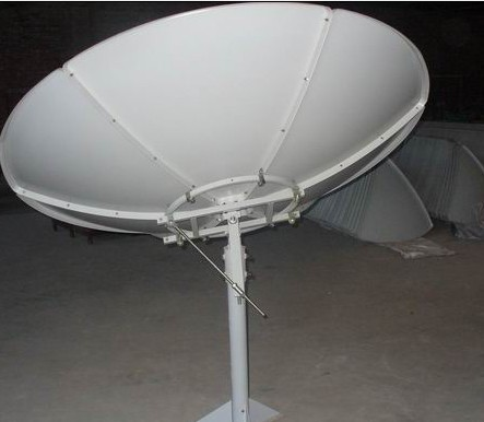 Polar axis C band 180cm/210cm/240cm satellite dish antenna