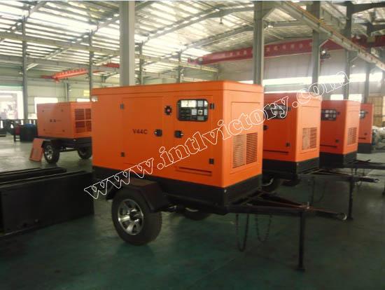 Mobile Trailer-mounted Generator