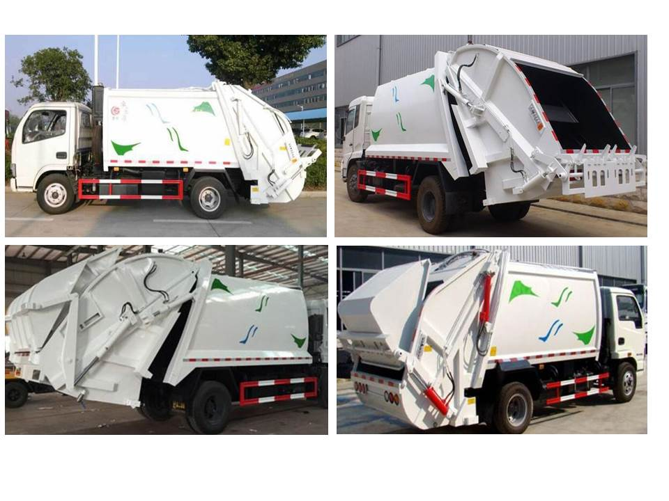 Compactor garbage truck show