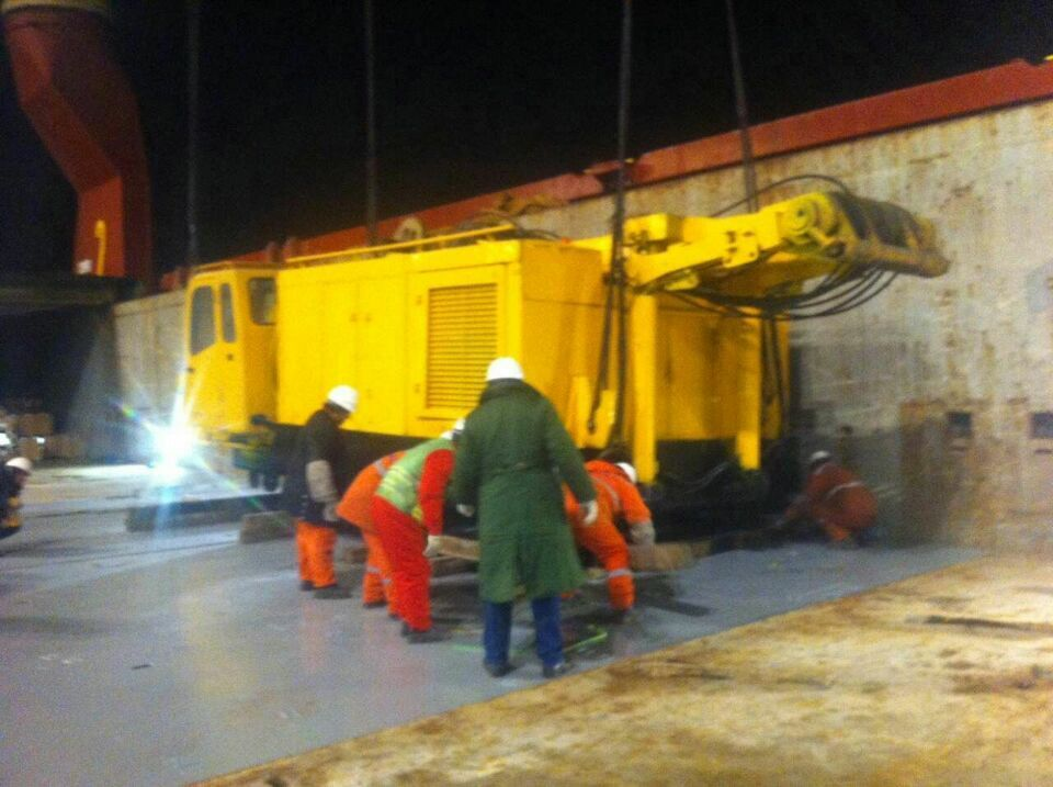 300ton LIMAR Have been sold in the beginning 2016 and SHIPMENT WORK