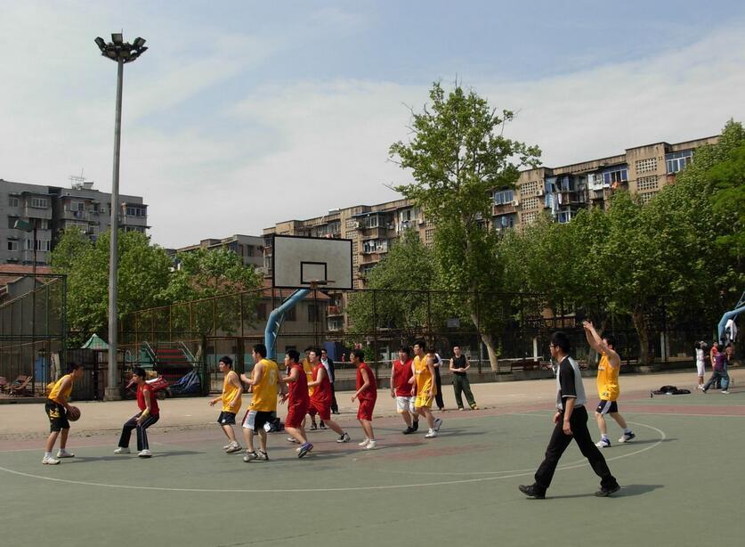 The fifth internal basketball match