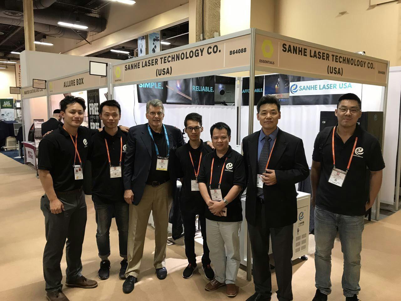 Sanhe Laser JCK Show ,America