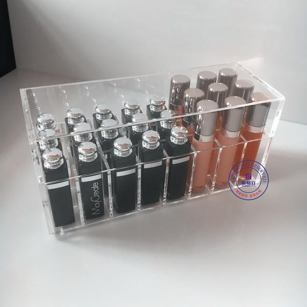 OEM acrylic lipstick display organizer stand