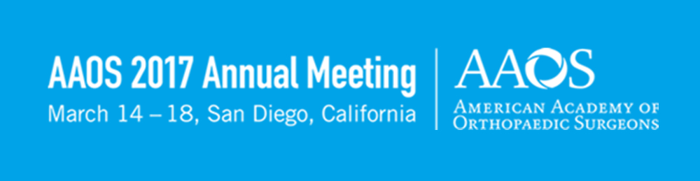 AAOS 2017 Annual Meeting