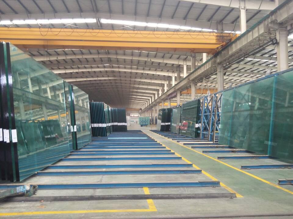 Migo Glass Float Glass Storage Warehouse