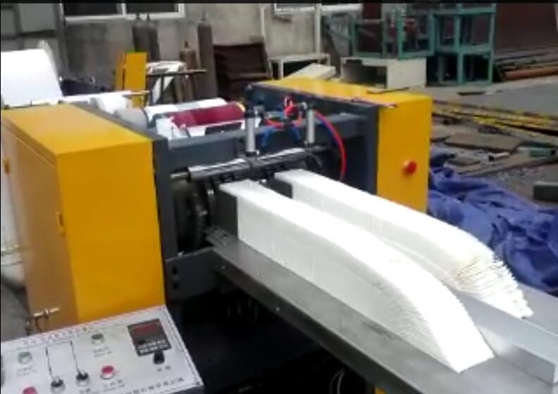 High Speed Low Folding Napkin Machine