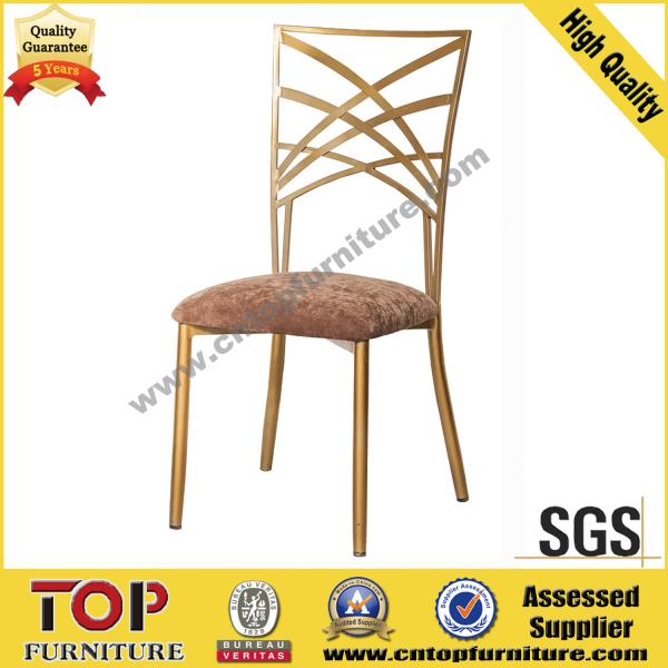 New Classy Steel Restaurant Banquet Dining Chair