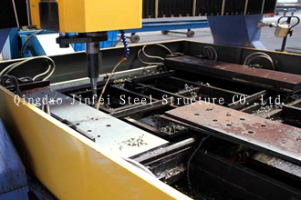 CNC plane drilling machine for steel structure products