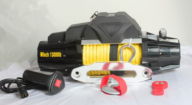 13000lb electric winch