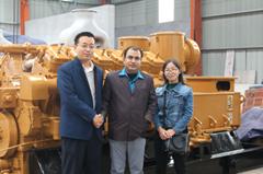 Bangladesh customer visit Jinan Lvneng power machinery equipment Co.,Ltd