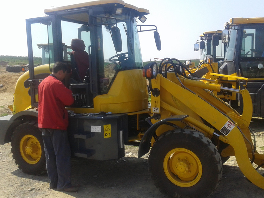 Engineers available to service machinery overseas