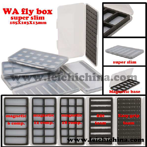 Super slim fly hook box WA