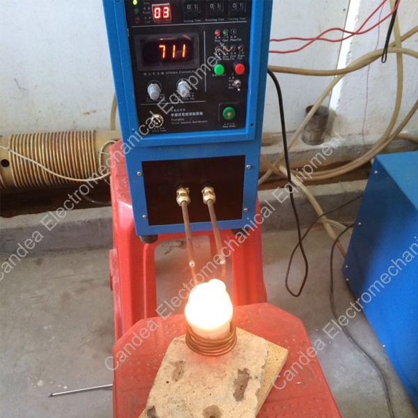high frequency induction heating machine for gold melting