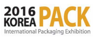 April 2016 Korea Pack Exhibition