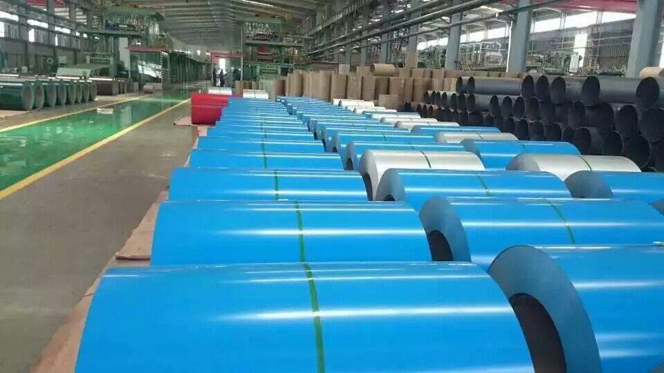 Prepainted Steel Coil and Color Coated Steel Coil Stock House