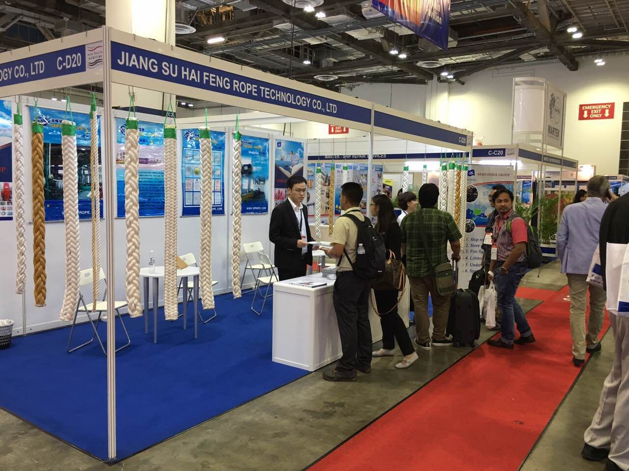 Asia Pacific Maritime 2016 In Singapore