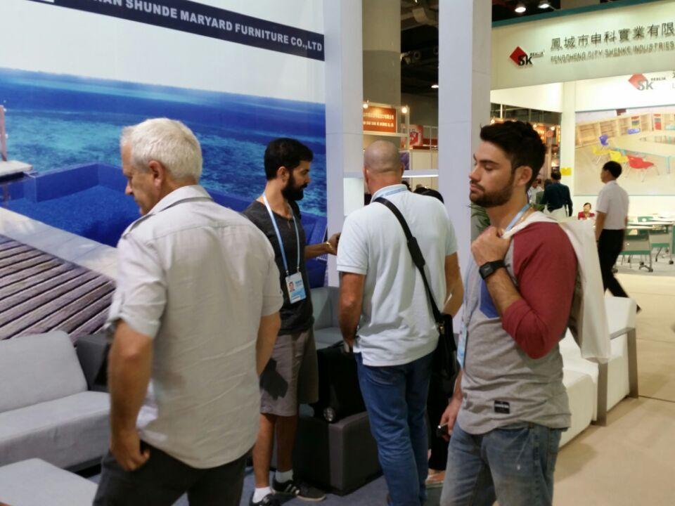 Every year we will attend the Canton fair, show our latest products