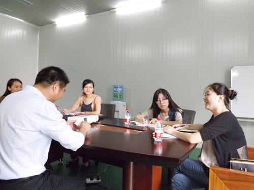 Wuxi City, the Organization Department of the leadership to visit the company to inspect and guide t