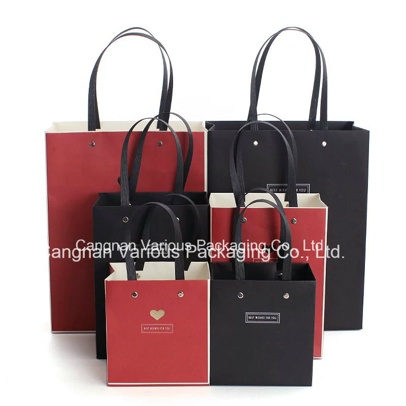 Custom Designed Kraft Paper Bag for Gift,clothes bag