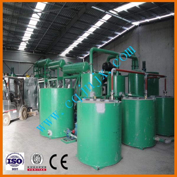 Zsa-30 Hot Sell Waste Lubricating Oil Regeneration to Base Oil Equipment