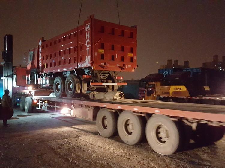 Unload HOWO Dump Truck